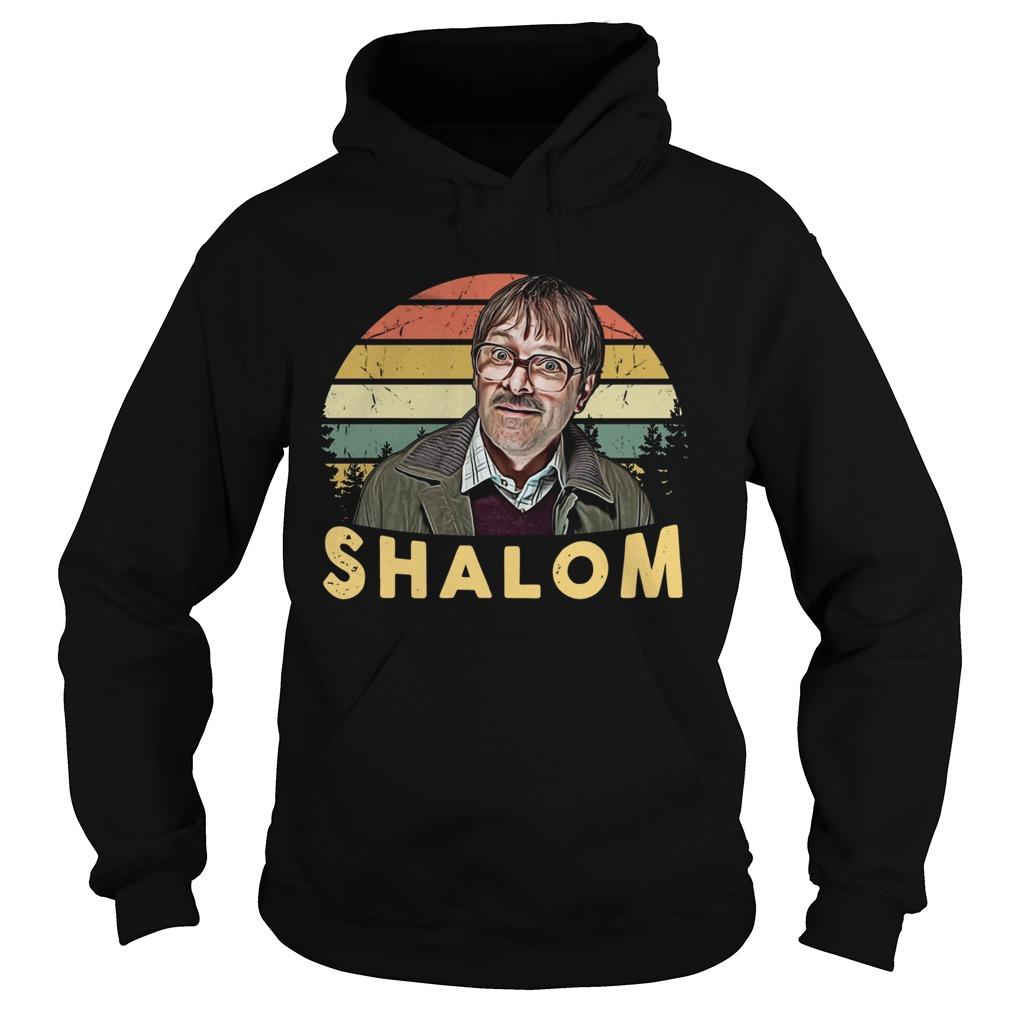 Shalom Vintage Sunset  Hoodie