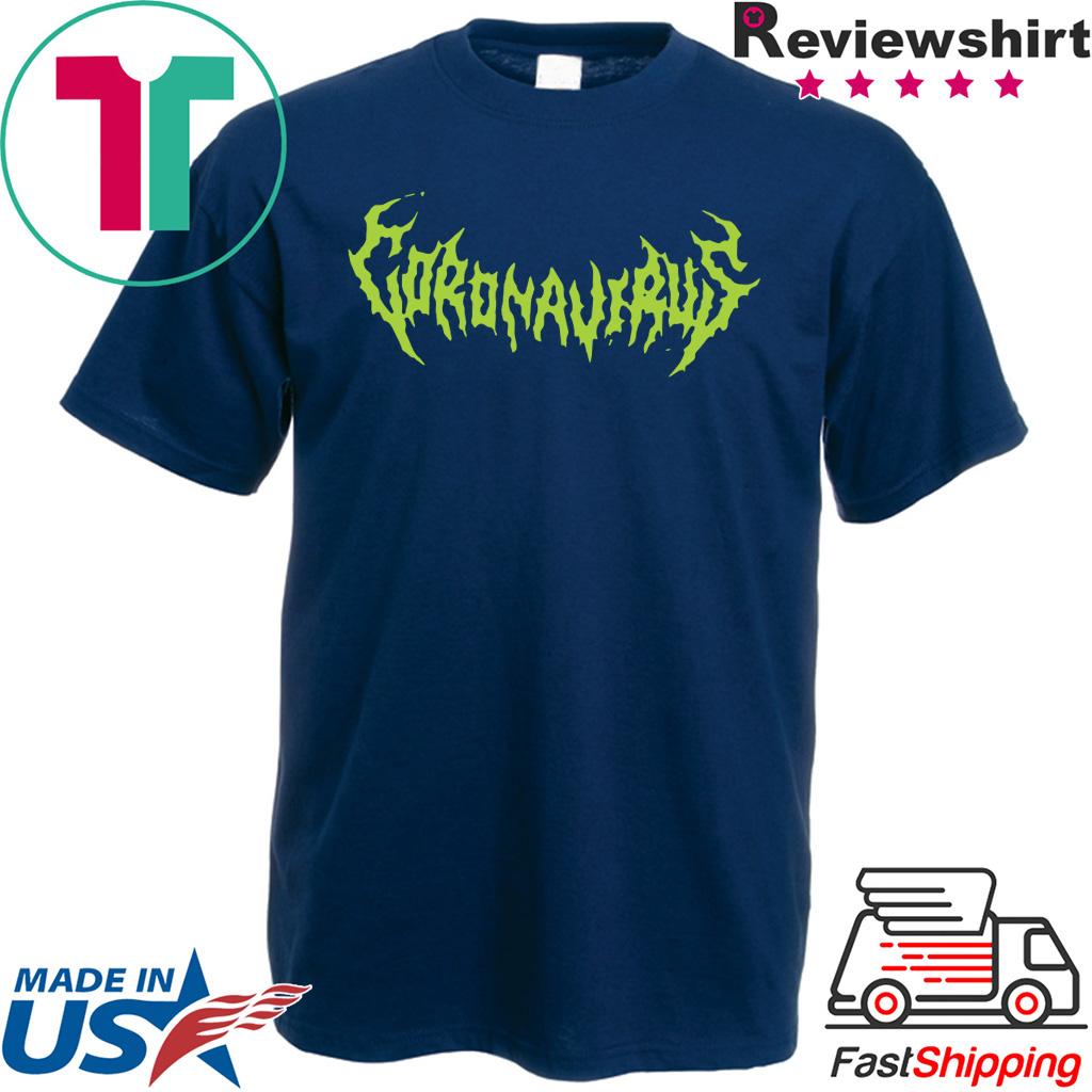 Coronavirus 2020 World Tour Gift T-Shirt