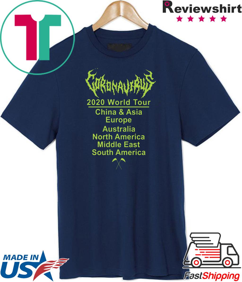 Coronavirus World tour Official T-Shirt