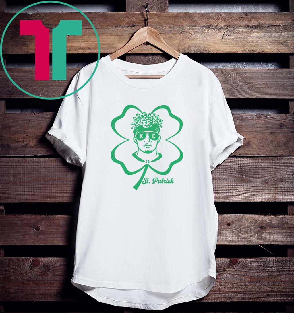 Patrick Mahomes St Patrick Day 2020 T-Shirt