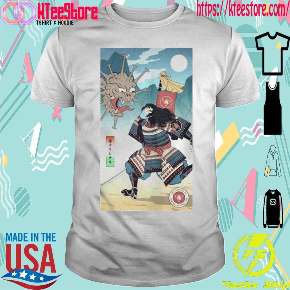 Samurai Vs Virus Demon No 3 Shirt