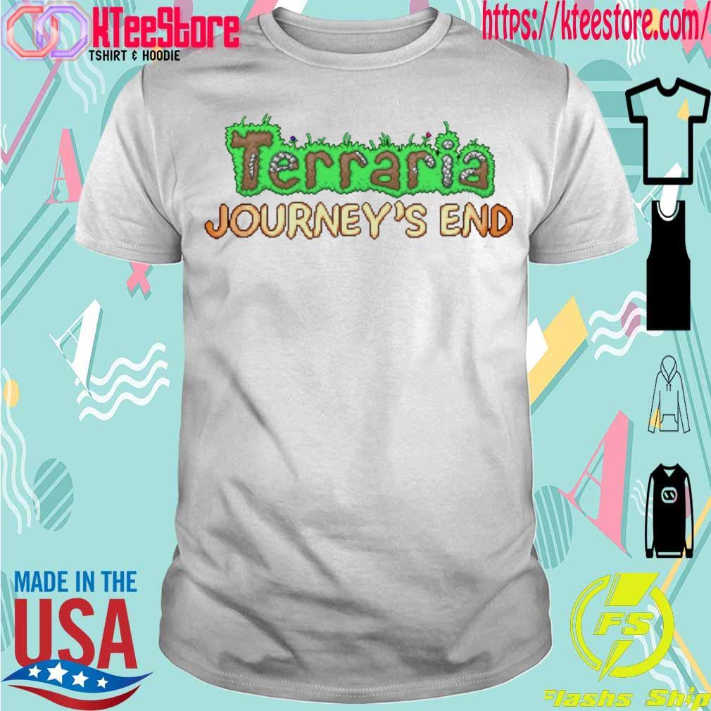 Terraria Journey's end shirt