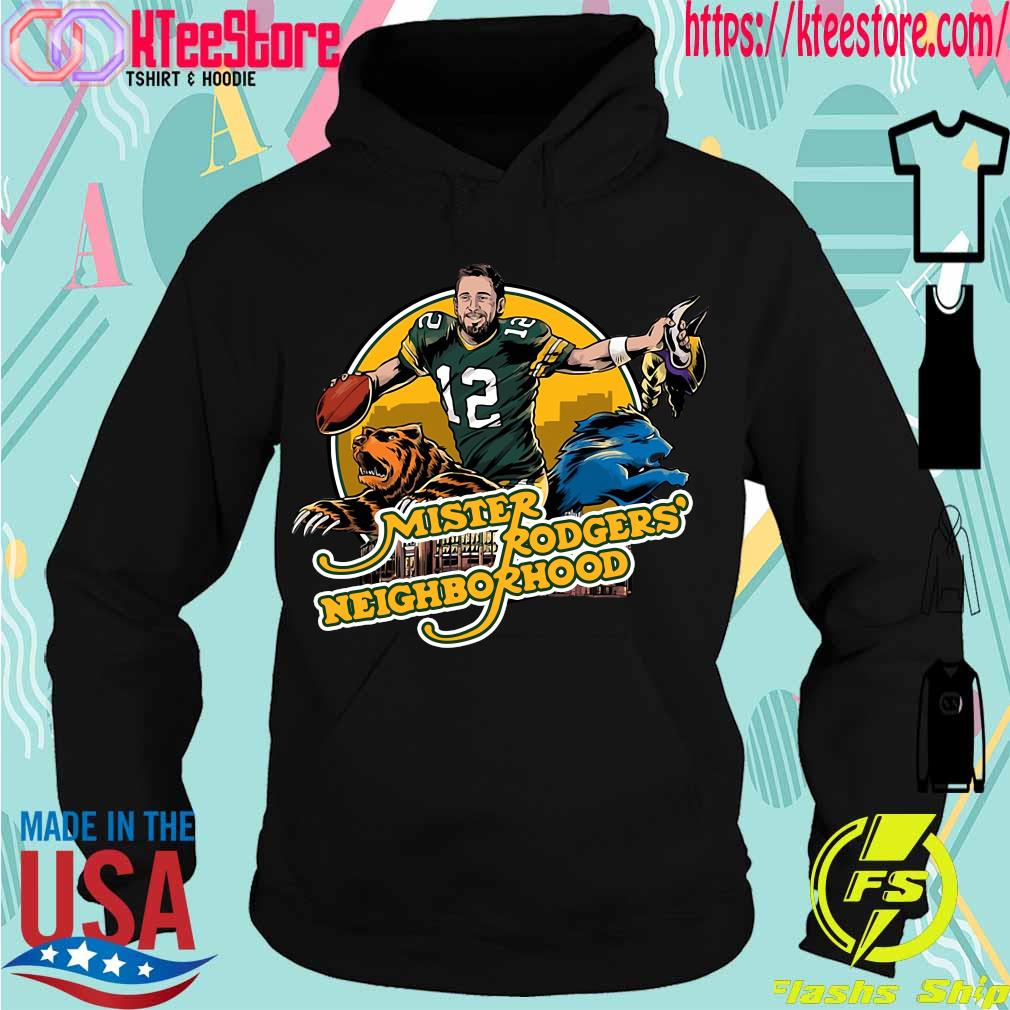 Aaron Rodgers Mister Rogers' Neighborhood s Hoodie