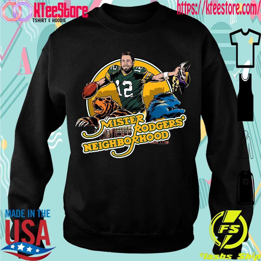 Aaron Rodgers Mister Rogers' Neighborhood s Sweatshirt