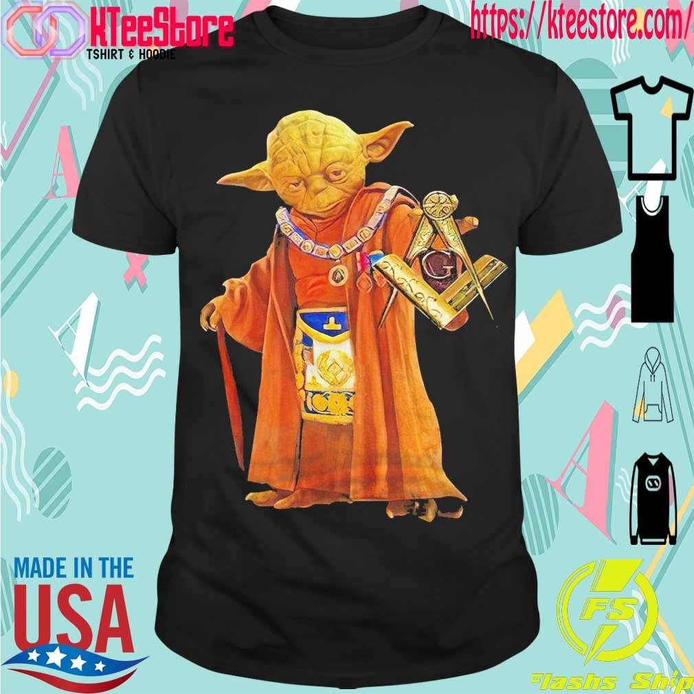 Official Master Yoda freemason Brother shirt