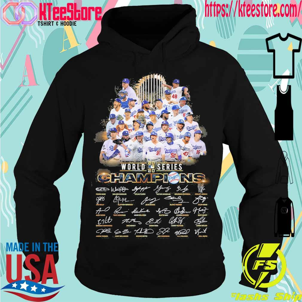 Official World 2020 Series Champions signatures s Hoodie