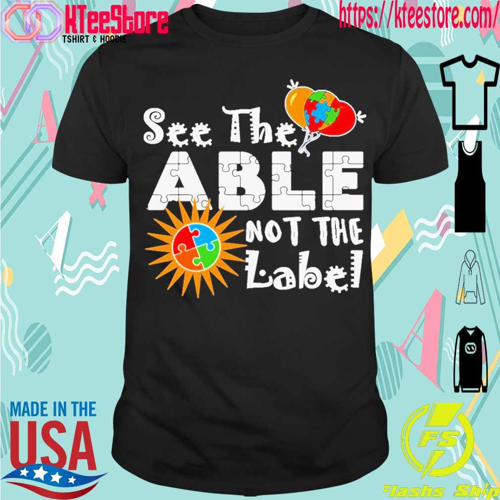 See the able label shirt