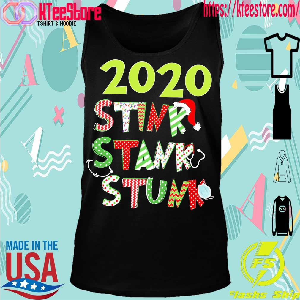 2020 Stink Stank Stunk Christmas s Tanktop