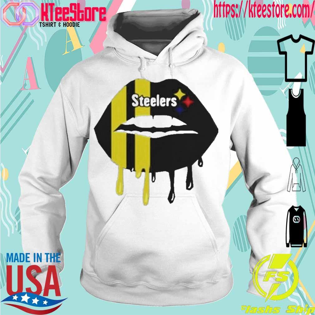 Official Steelers Lip Shirt Hoodie