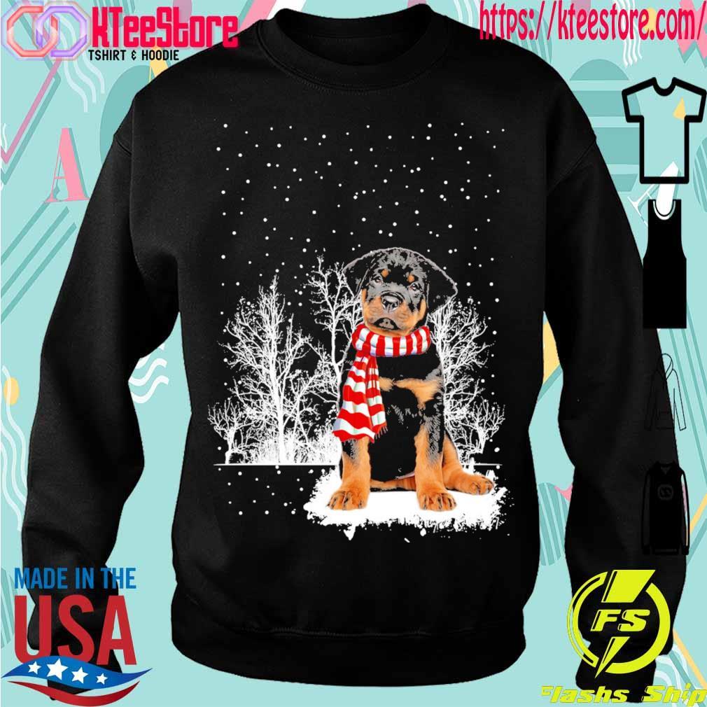 Rottweiler carf Christmas s Sweatshirt