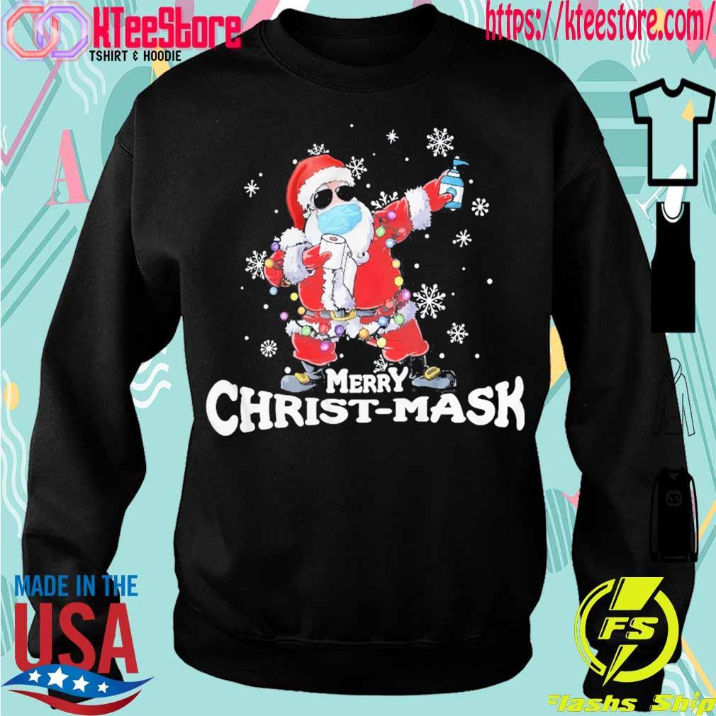 Santa Claus Merry Christ-mask s Sweatshirt