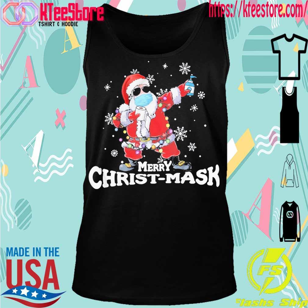Santa Claus Merry Christ-mask s Tanktop