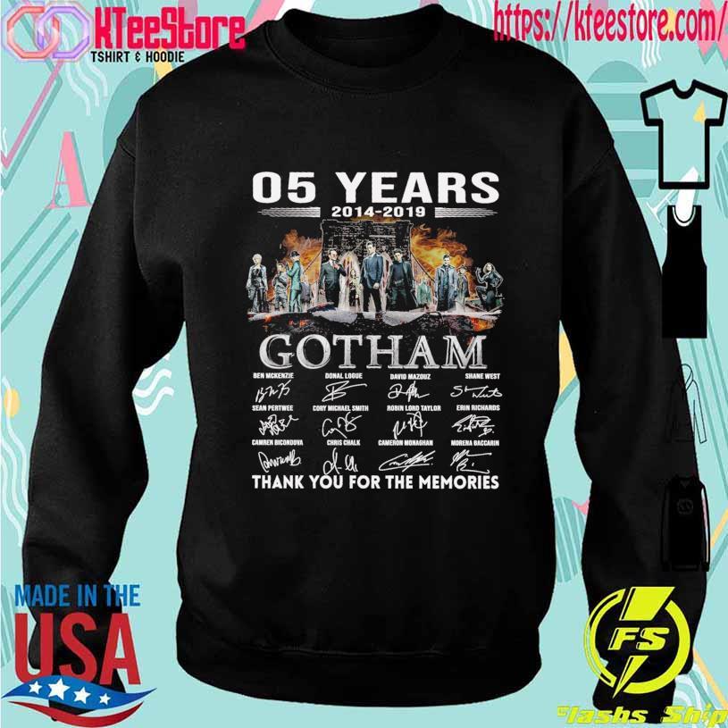 05 Years 2014 2019 Gotham Ben Mckenzie Donal Logue signatures s Sweatshirt